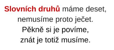slovnidruhy