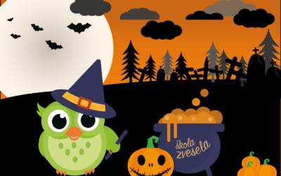 Rozárčin Halloween – pracovní listy ke stažení